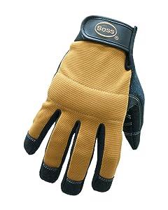 Boss Gloves 5206X All Purpose Mechanic Glove, X-Large