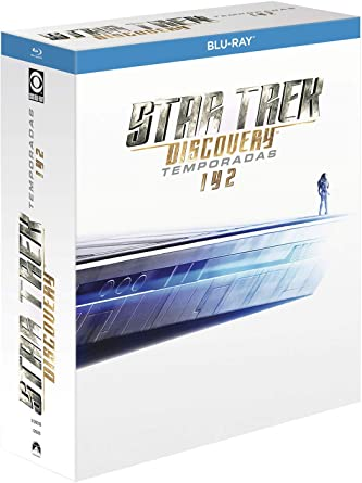 Pack 1-2: Star Trek Discovery (BD) [Blu-ray]: Amazon.es: Sonequa Martin-Green, Doug Jones, Maulik Pancholy, Anthony Rapp, Sonequa Martin-Green, Doug Jones, Maulik Pancholy, Anthony Rapp, Sonequa Martin-Green, Doug Jones, CBS Television Studios, Living