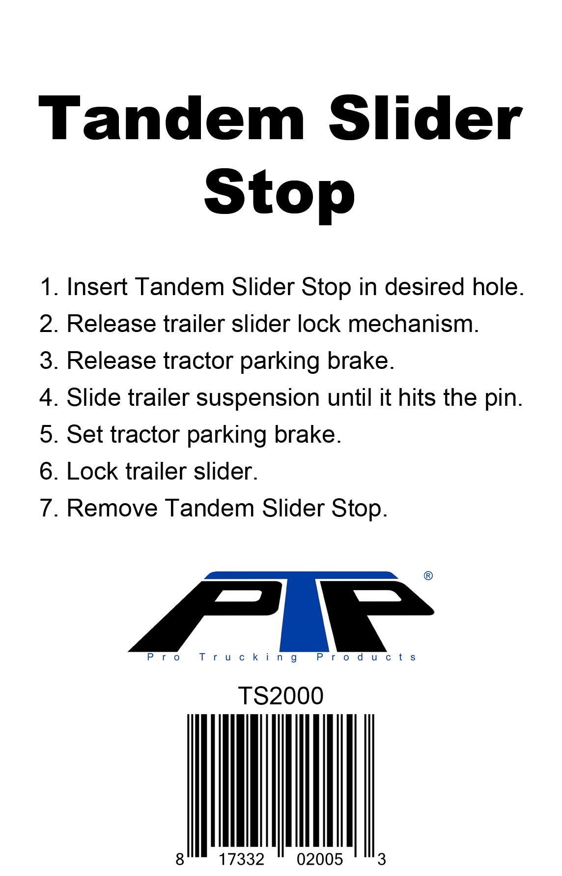 PTP Tandem Slider Stop