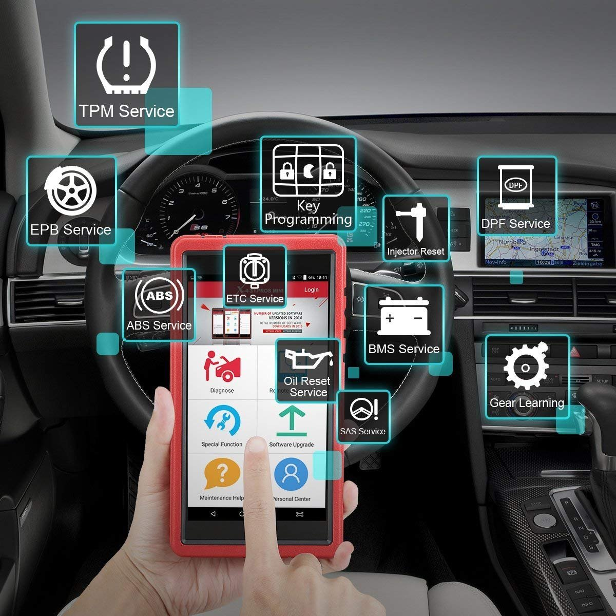 Independent computer diagnostics of VAZ cars: what could be simpler Connecting diagnostic equipment to a car 24