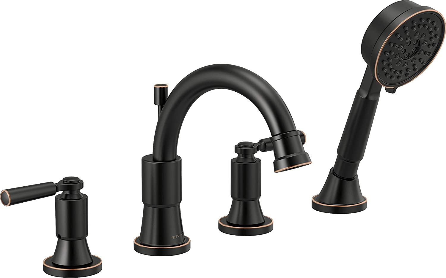 Delta Faucet PTT4523-OB Westchester Roman Tub Trim Kit with Hand Shower, Oil-Rubbed Bronze