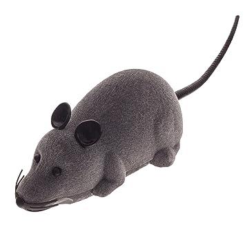 RC Elektrische Ferngesteuerte Ratte Maus mit Fernbedienung Haustier Katzen Hunde Spielzeug Katzen