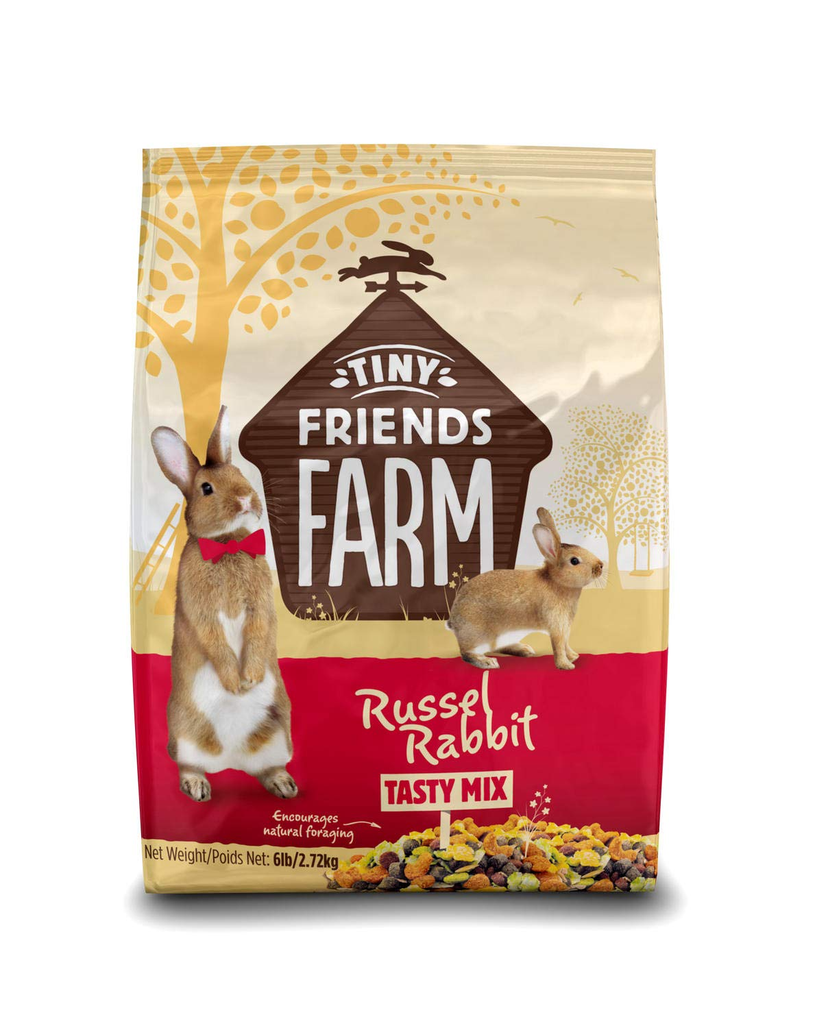 Supreme Petfoods Tiny Friends Farm Russel Rabbit Food, 6 lb by SupremePetfoods