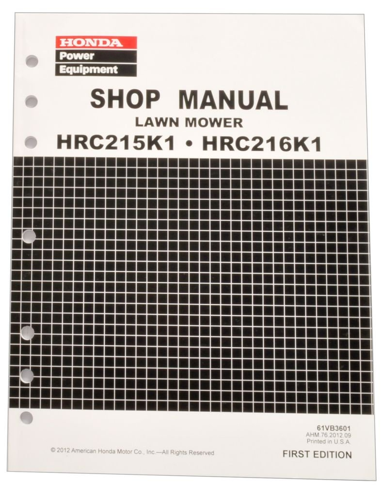 honda gxv270 service manual pdf bing images Honda HRR2163VXA Transmission Repair Honda Lawn Mower Model HRR2163VXA