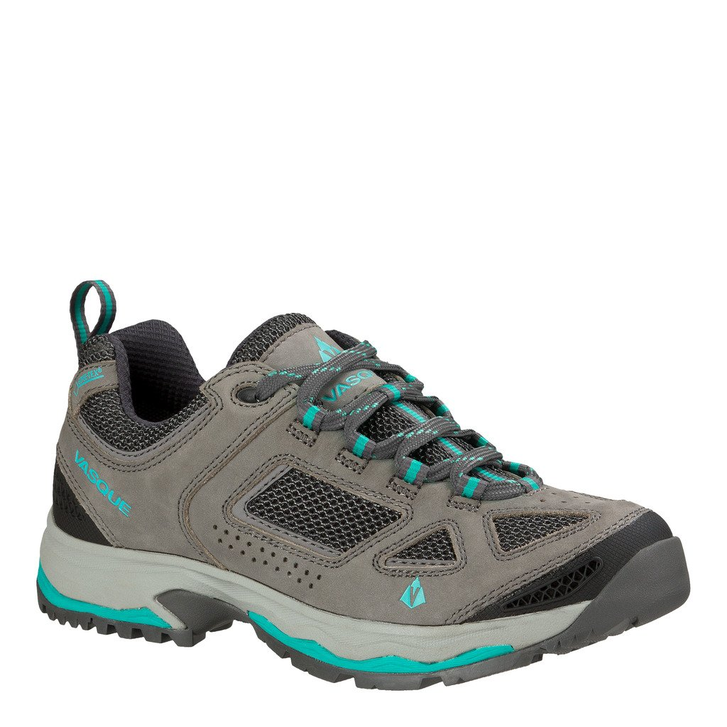 Vasque Breeze III Low GTX Shoe - Women's Gargoyle / Columbia 8 Wide