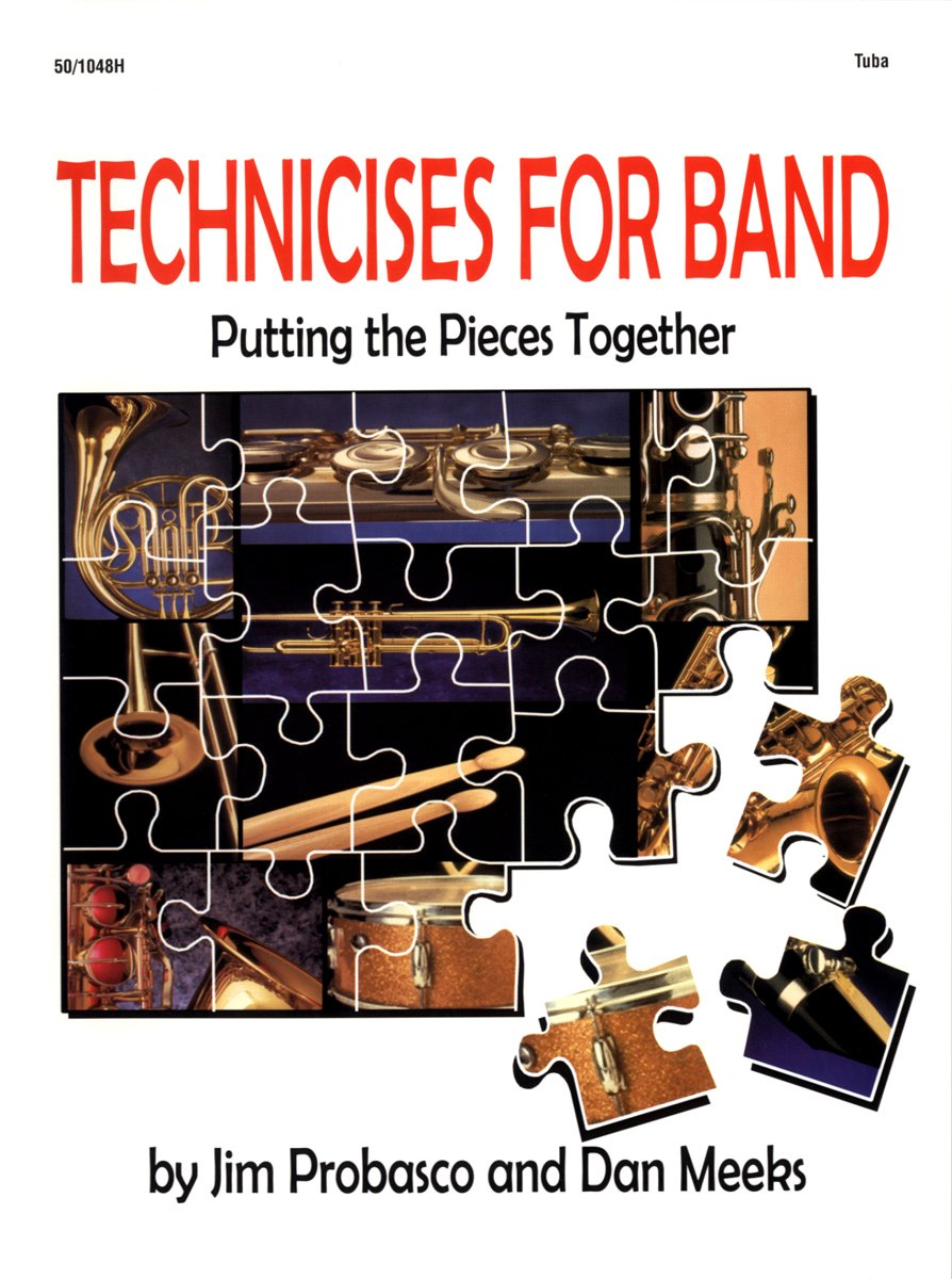 Download Technicises for Band Tuba (technicises for band putting the pieces together, tuba) pdf