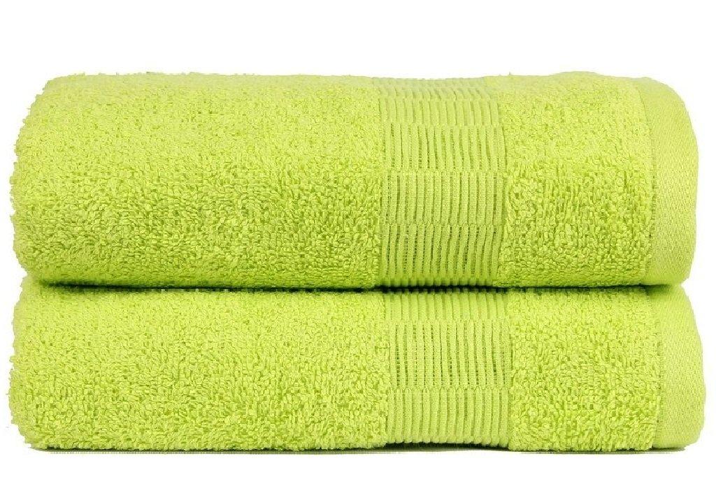 Casa Basics asciugatura rapida 2 pezzi Yoga, palestra, sport, Viaggi, Campeggio, Outdoor, asciugamani, colore: verde chiaro Acme CGT02MB018