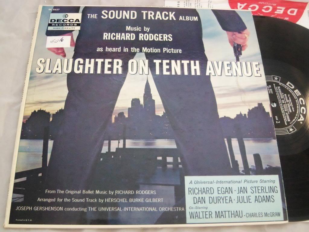 Richard Rodgers Slaughter On Tenth Avenue Soundtrack Vinyl Lp