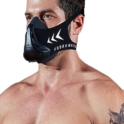 Training Mask Exercise Workout Fitness Cardio Running Cycling Oxygen Improving