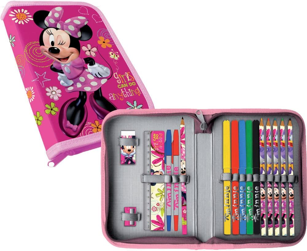 Estuche Minnie Disney Flowers completo: Amazon.es: Bebé