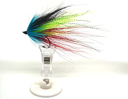 10cm Hook//tube Trout Salmon Steelhead Pike Fly Fishing Streamer Flies Saltw P2Y4