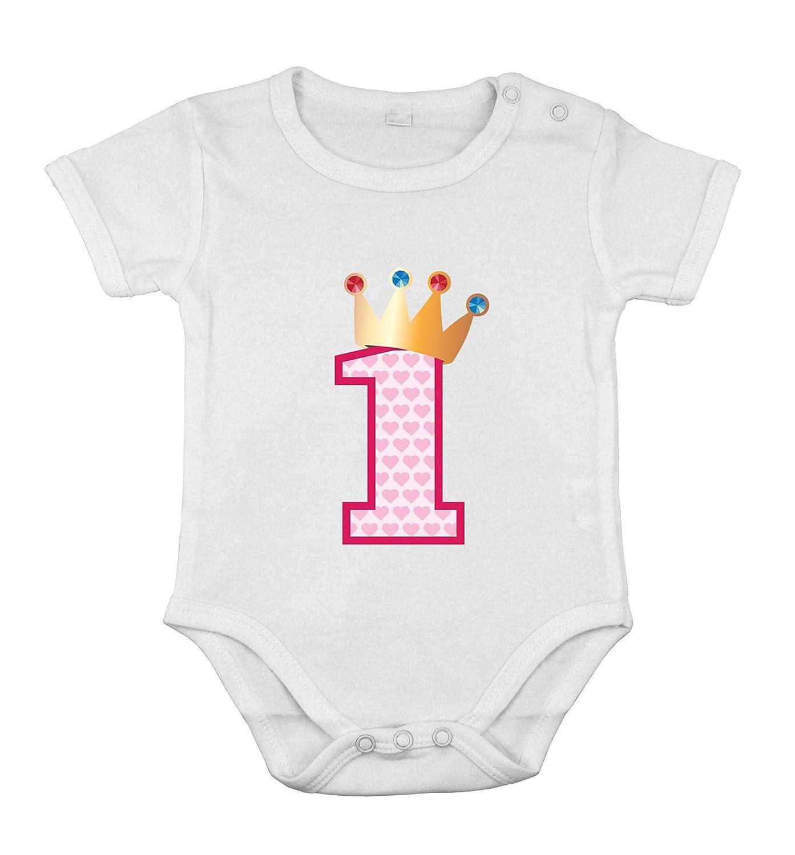 Primer cumpleaños Regalo para bebé niña Body de algodón ...