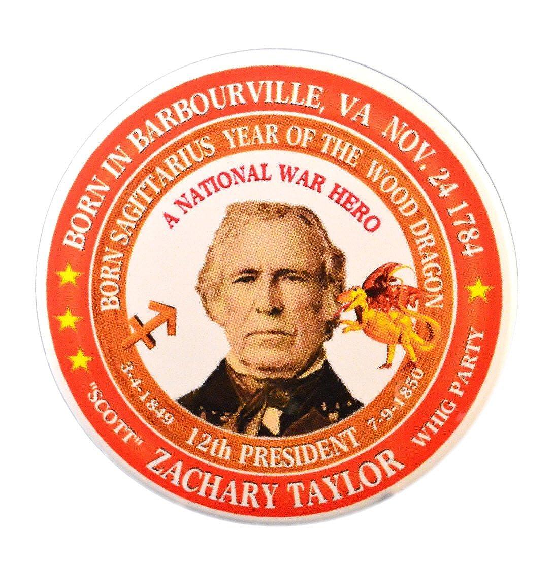 Amazon com: Zachary Taylor 12th President Pin, Astrology