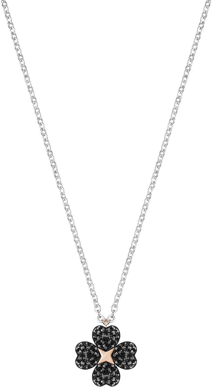 Swarovski Crystal Latisha Rhodium Plating Reversible Pendant