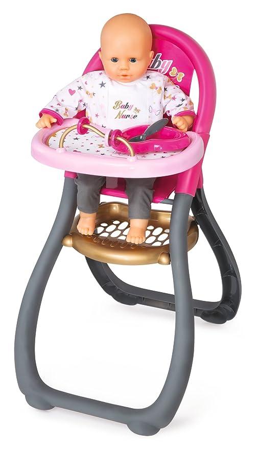 Babystoel Games co Smoby VAmazon Nurse Baby ukToysamp; wkN8n0OPX