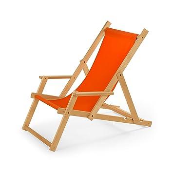 Chaise longue de jardin en bois, Transat, Chaise longue relax de ...