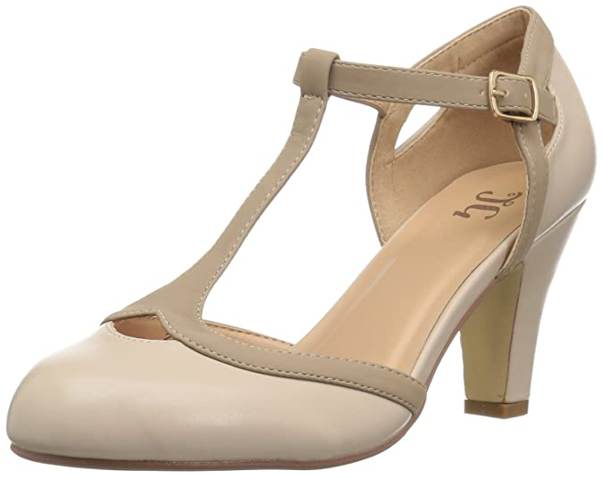 Vintage Heels, Retro Heels, Pumps, Shoes Brinley Co Womens ORIA Pump $39.99 AT vintagedancer.com