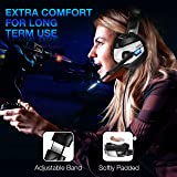 PS4 Gaming Headset - ONIKUMA Gaming Headset with