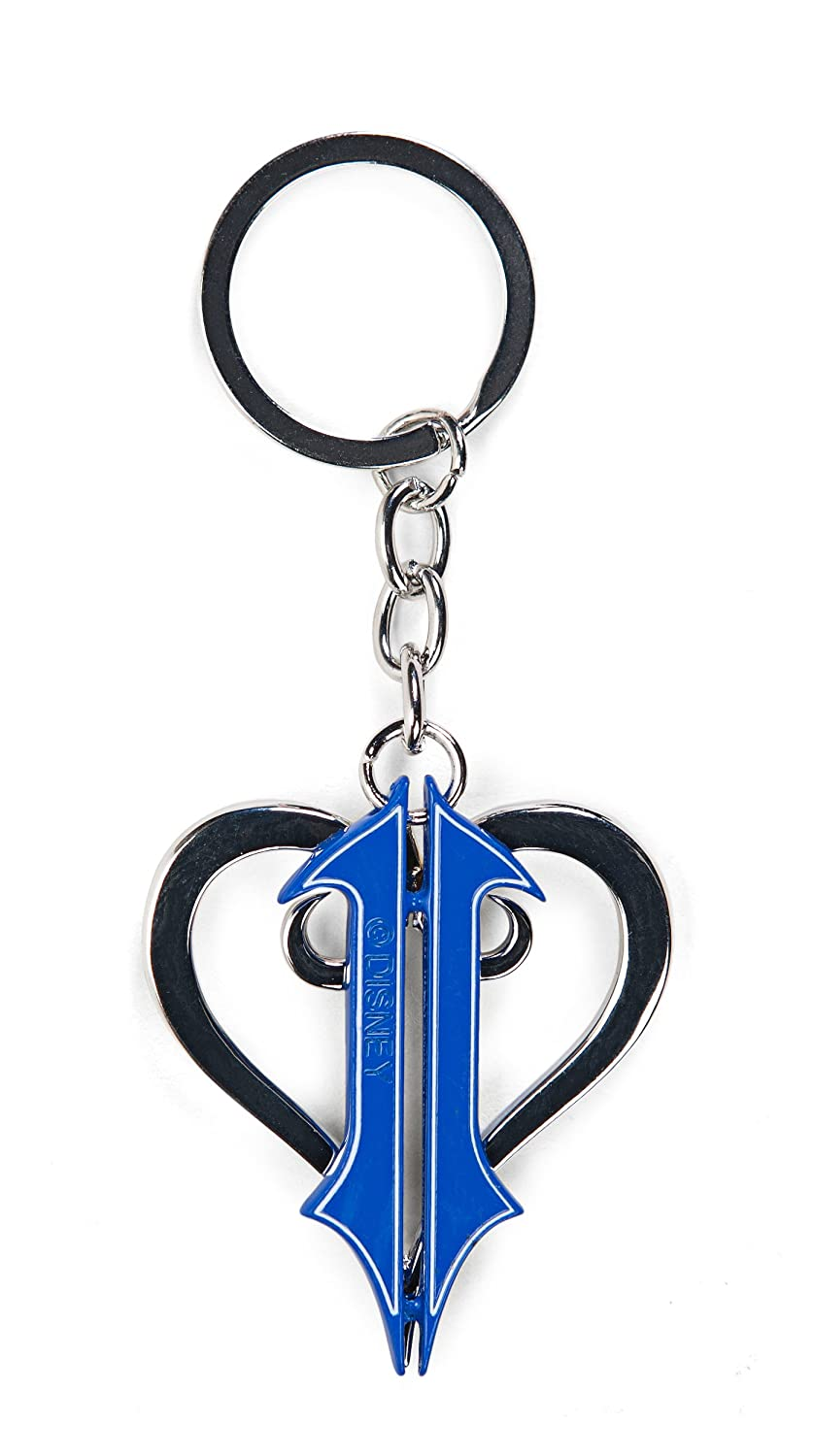 Kingdom Hearts II Cut Out Logo Porte-Clés