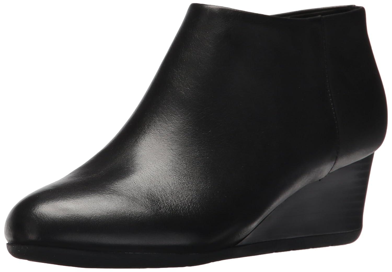 Easy Spirit Women's Leinee Ankle Bootie B06Y5MDKS5 8 B(M) US|Black Le