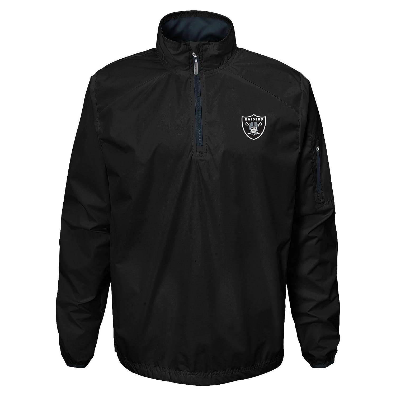 Outerstuff NFL Teen-Boys NFL Youth Boys Alpha Performance 1//4 Zip Jacket