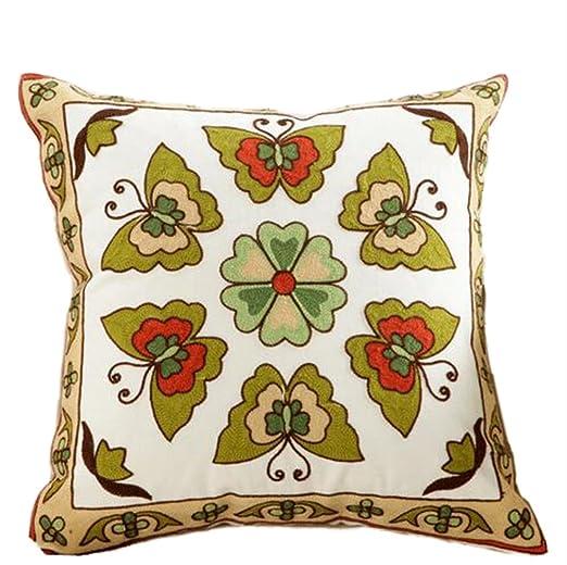 nunubee kissenbezug chino National Wind bordado de estilo ...
