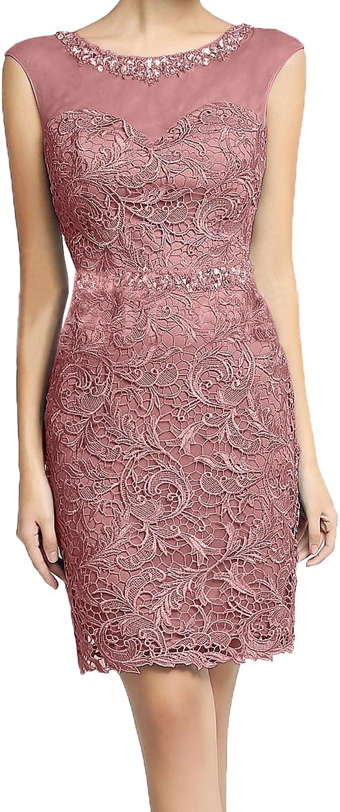 La_mia Braut Etuikleid Damen Abendkleider Figurbetonte Kleider
