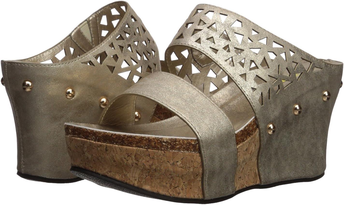 Volatile Womens Bayswater Wedge Sandal