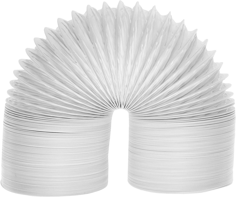 Spares2go Extra larga condensador tubo extractor para tuberías de para SECADORA Zanussi con ventilación (5,5 m/10,16 cm)