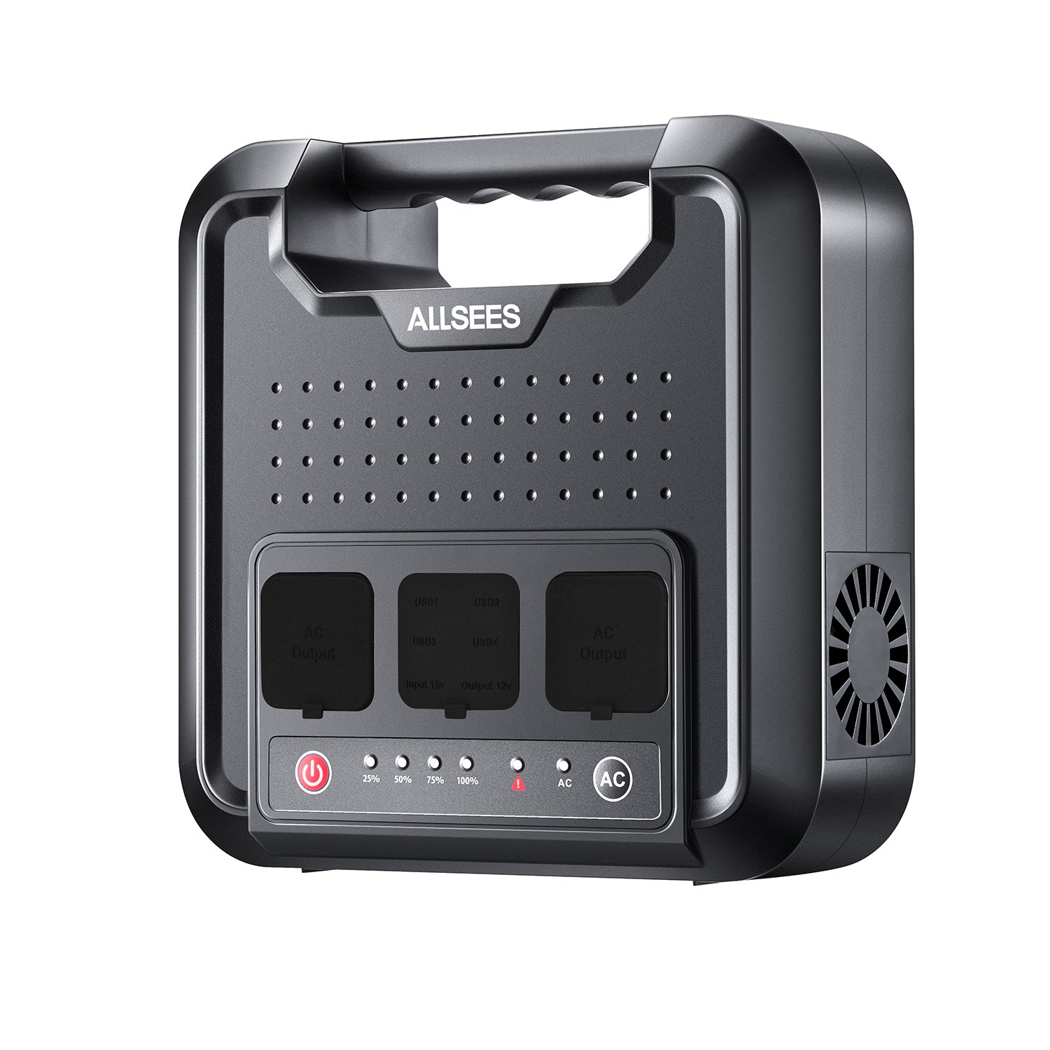 Power Station –300W 220Wh Portable Generator, Multifarious Rechargeable Power Source with DC/AC Inverter, Dual 110V AC Outlet, Dual DC Ports, 4 USB Ports for Outdoor Using, CPAP or Emergency Backup