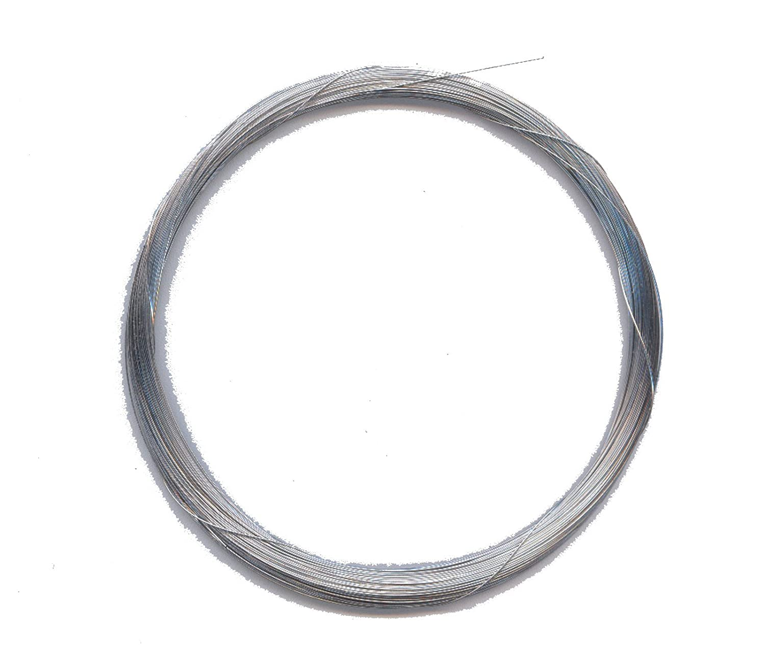 Sitar String Coil, Guage No. 2, used for Baaj Steel or 1St String in Ravi Shankar Style, made in Germany, Roselu