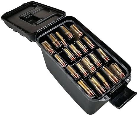 Case Club x20 AR-15 Magazine Storage Box (5 56/ 223) Water-Resistant with  Extra Storage Compartment