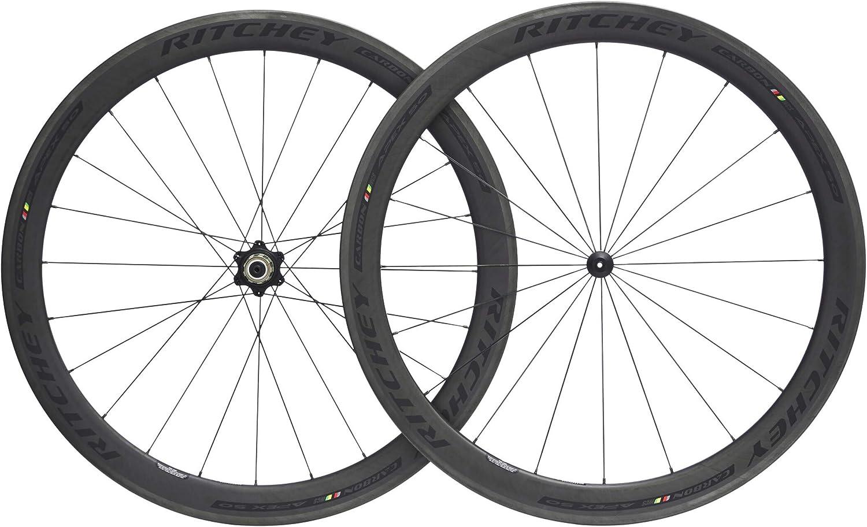Ritchey WCS Apex 50Rueda de bicicleta 28Tubeless clincher 130x 10mm Shimano/SRAM 11de compartimento Black 201826pulgadas