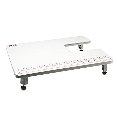 Alfa Mesa de Extensión para Máquina de Coser, Blanco, 28.5x40.5x3 cm