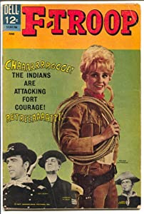 F-Troop #6 1967-Dell-TV series-Ken Berry-Forrest Tucker-Melody Patterson-VG