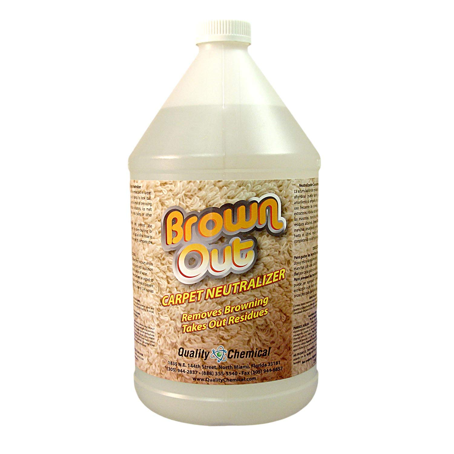 Brown Out Carpet Neutralizer and Stain Remover - 1 gallon