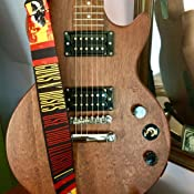 Perris Leathers P25GNR-6000 Guns N Roses Leather Guitar Strap