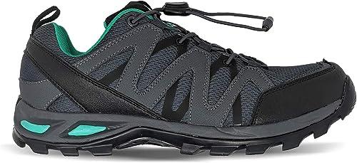 6E Width Hiking Diabetic Shoe Leather