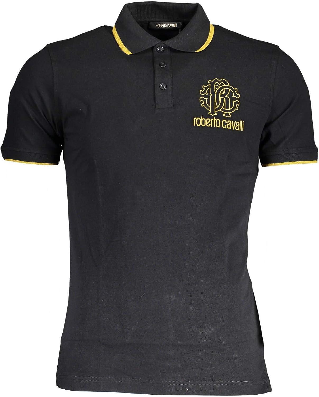 Roberto Cavalli Hombre Polo Shirt GST678A 05051 05051 Camisa Polo