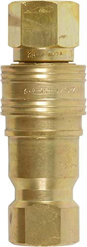 Gas Fire Pit/Heater 1/2″ Brass Heavy Duty Quick Connect Supply and Receiving Side