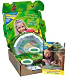 Insect Lore Live Butterfly Growing Kit Toy - 10 Caterpillars to Butterflies - SHIP NOW