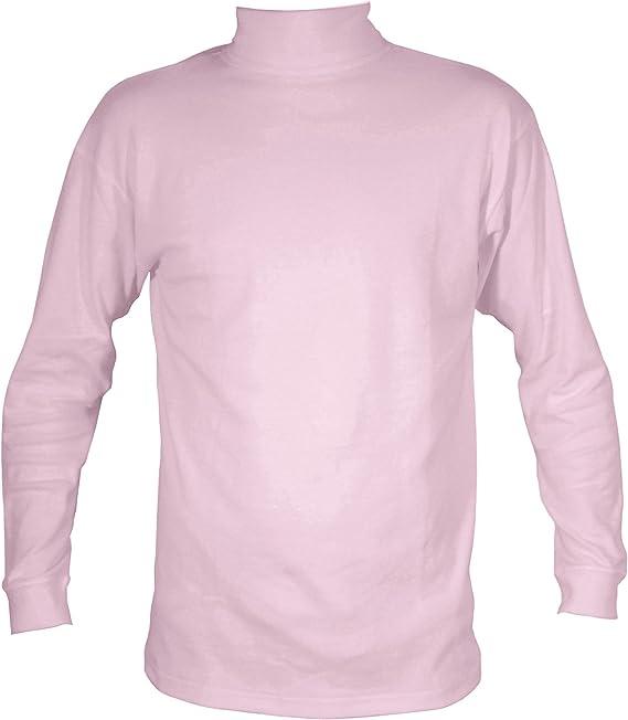 Manbi Polo de algodón para niños Rosa rosa pastel 13-14 años ...