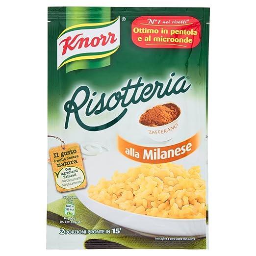 13 opinioni per Knorr- Risotteria, alla Milanese- 175 g