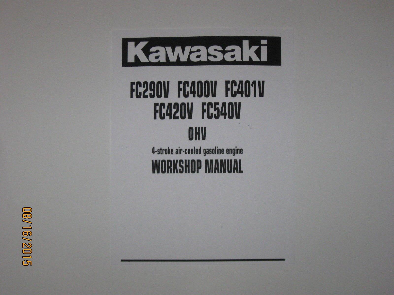 Tondeuse à gazon kawasaki fc290v.