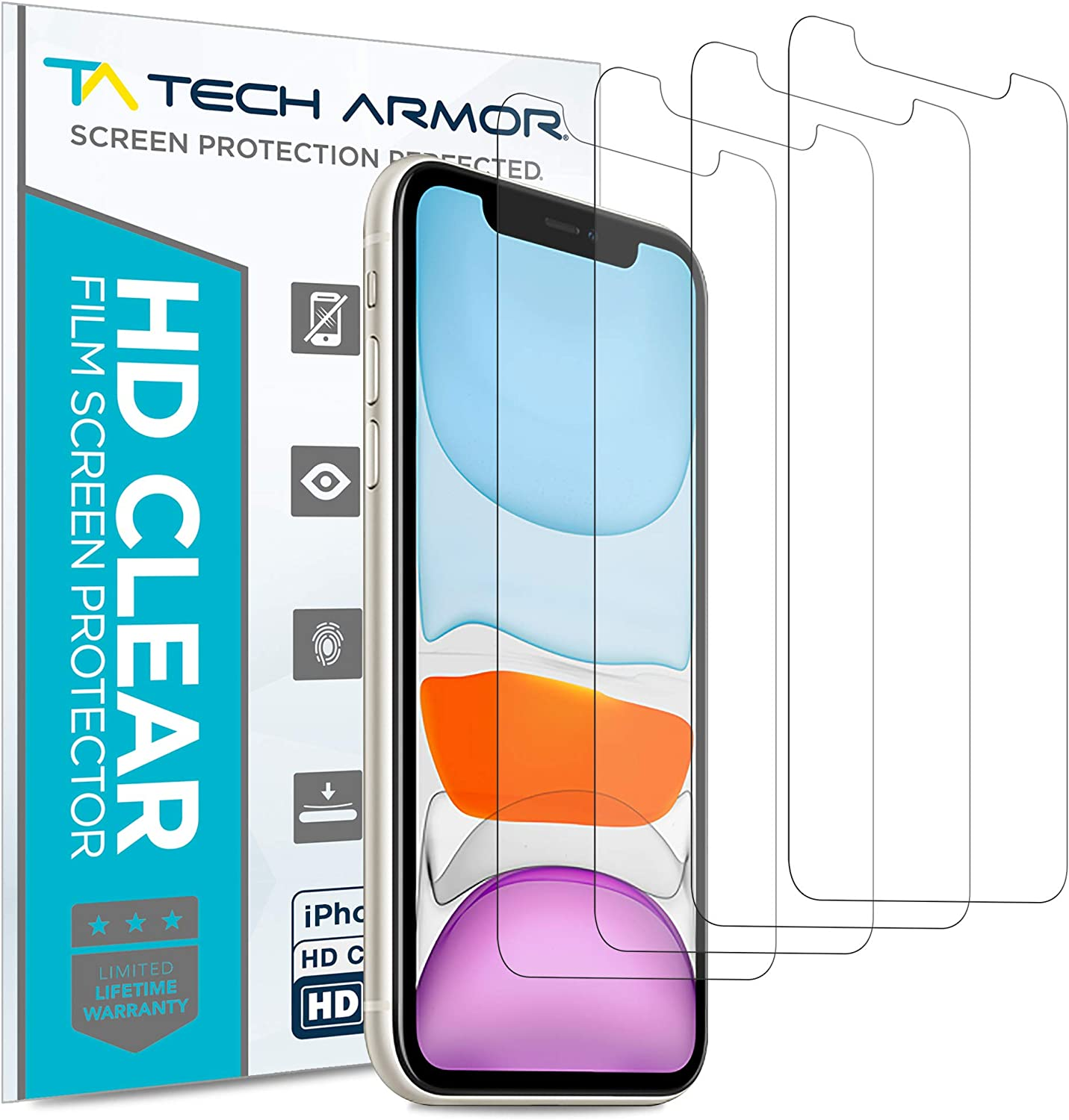 AirGlass Glass Screen Protector for Philips DVT3120 Screen Guard BROTECT Extra-Hard Ultra-Light