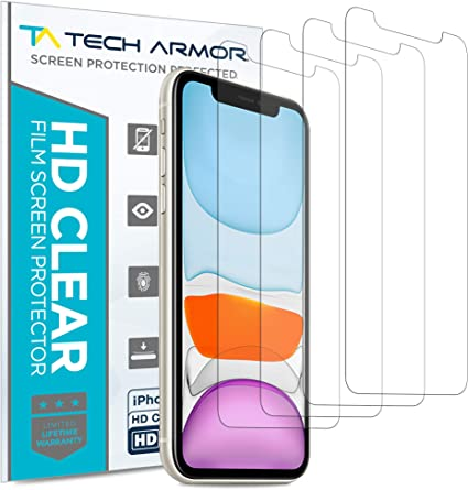 Tempered Glass Film Smpl 2-Pack Glass Screen Protector for Apple iPhone XR
