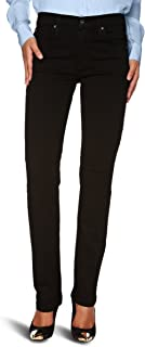 product image for James Jeans Women's Hunter High-Rise Straight-Leg in Black Clean