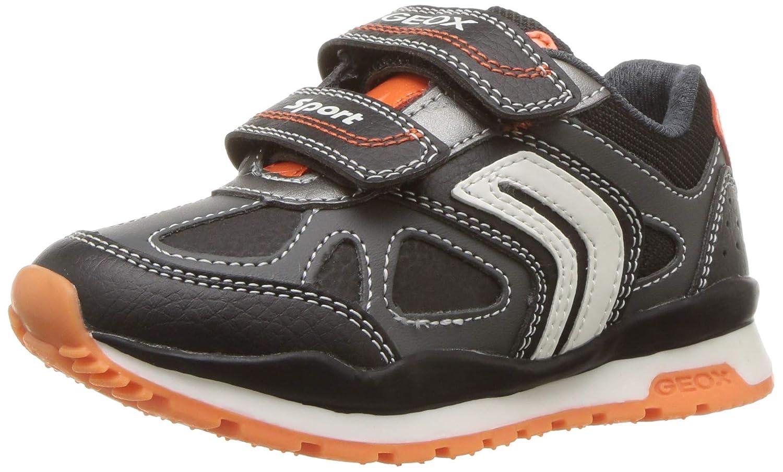 Amazing Savings on Geox Hoshiko Girl 4 Velcro Sneaker, Navy
