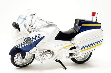 PLAYJOCS GT-3989 Moto POLICÍA Municipal: Amazon.es ...