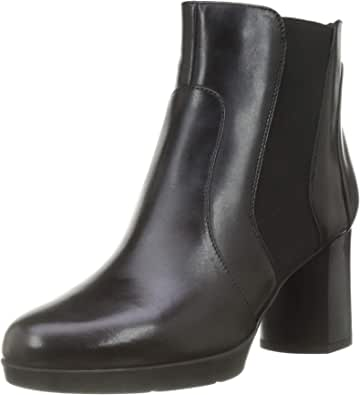 Geox D Anylla Mid B, Ankle Boot Mujer